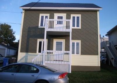 peinture de maison extérieure 2 étages